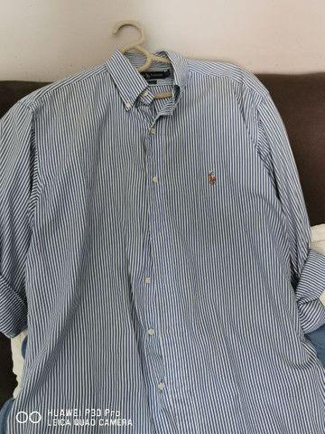 Duas lindas camisas de tecido Polo Ralph Lauren