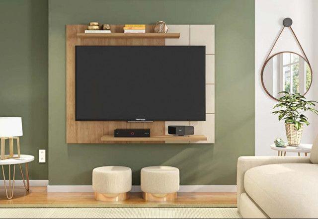 Painel para TV de até 58 polegadas/ modelo simples/ ótimo preço - Foto 3