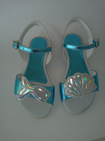 Kit 2 pares de sandálias infantis menina