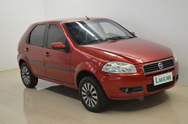Palio ELX 1.0 - vermelho - ano 2008