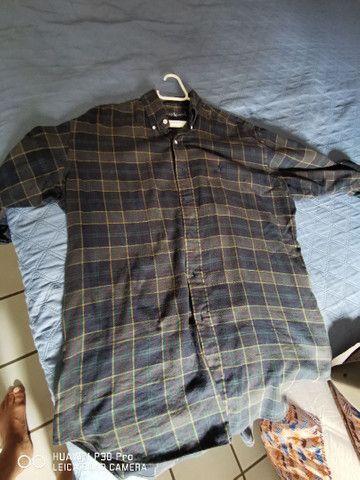 Duas lindas camisas de tecido Polo Ralph Lauren  - Foto 5