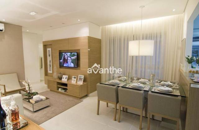 Apartamento com 3 dormitórios à venda, 74 m² por R$ 317.000 - Santa Isabel Zona Leste - Te - Foto 3