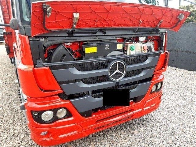 Mercedes-Benz Atego 2430 8x2 2015 - Oportunidade Incrível  - Foto 3