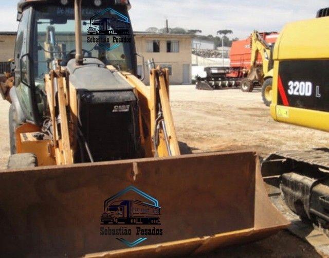 Retro Escavadeira Case 580N 2014  - Foto 2