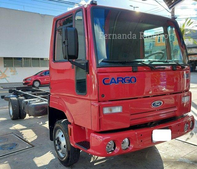 Ford cargo 815 chassis - baixo km - revisado  - Foto 18
