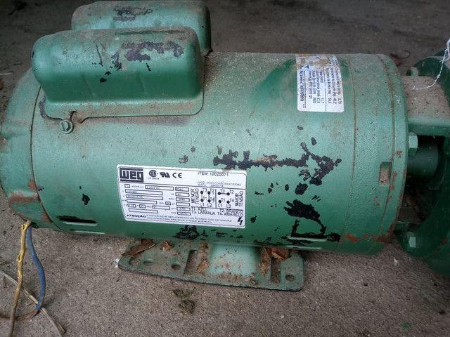 Bomba de irrigação 3cv monofásica  - Foto 3