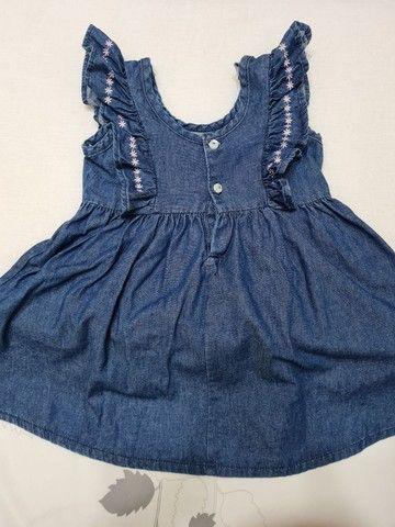 Vestido Jeans - Tamanho 2 - Marca carinhoso - Foto 5