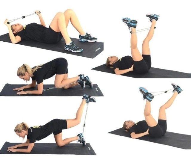 Elástico de Tensão para Exercícios de Vários Grupos Musculares - Foto 2