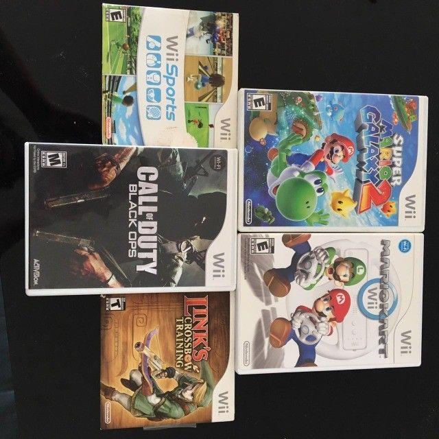 Nintendo WII + diversos jogos + acessórios - Foto 2
