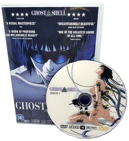 Box Dvd Anime Ghost In The Shell Completo + Movies + Extras