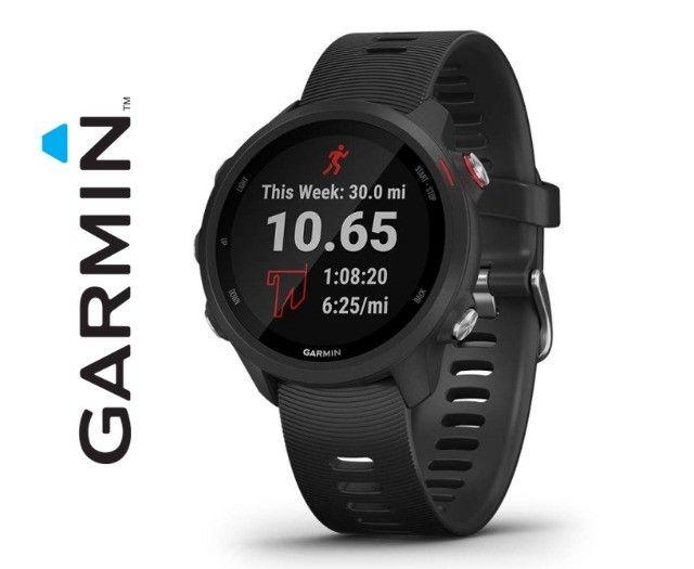 Relógio Com Gps Garmin Forerunner 245 Music Preto - Novo - Pronta Entrega! - Foto 4