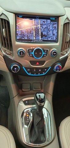 Chevrolet Cruze LTZ 1.4 Turbo 2018/2018 - Cor Prata 33.041 KM - Foto 14