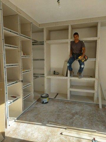 Guarda roupa em Drywall - Foto 2