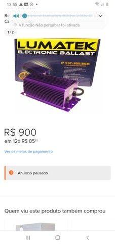 Reator Eletrônico Lumatek  dimenrizável - Foto 2