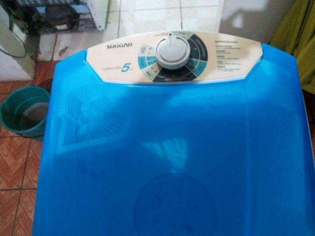Tanquinho 5kg Semi Novo Suggar Funcionando perfeitamente (( entregamos )) - Foto 3