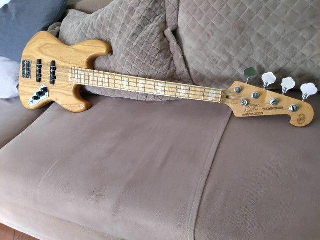 Baixo SX jazz bass 4 cordas  - Foto 6