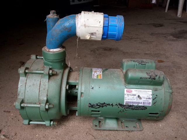 Bomba de irrigação 3cv monofásica  - Foto 5