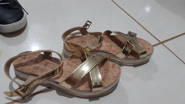 Lote de sapatos 200$ tamanho de 32 a 34 - Foto 3