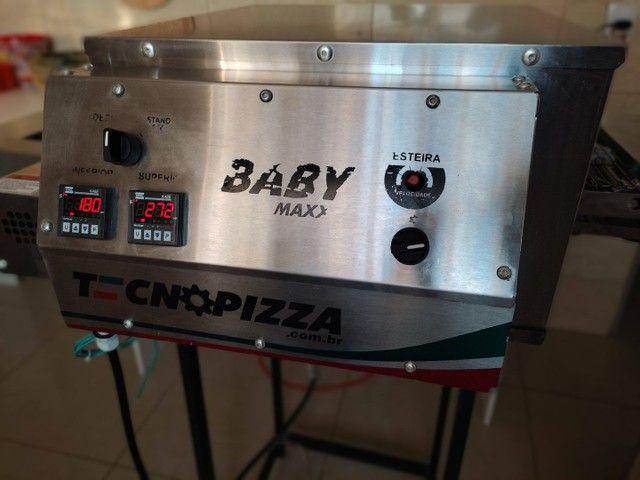 Forno esteira baby tecnopizza