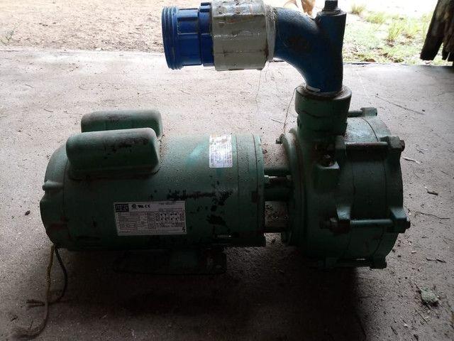 Bomba de irrigação 3cv monofásica  - Foto 4