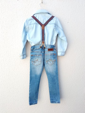 Jeans menino Tam 4 - Foto 2
