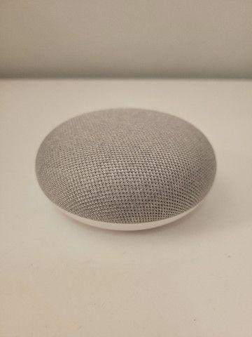 Nest Mini 2ª geração Smart Speaker - com Google Assistente Cor Giz - Foto 2