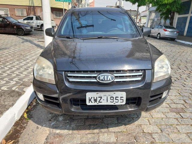 sportage lx 2.0 gasolina automatica  preta  2008  blindada