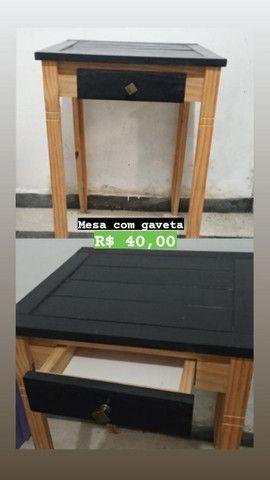 Guarda-roupa, balcão de cozinha, mesa escritório, mesa cadeira - Foto 4