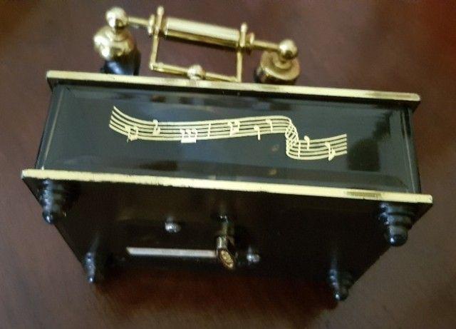 Caixa de Música Antiga com telefone Anos 90     - Foto 3