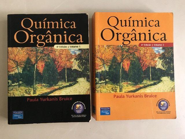 Livros Química Orgânica - Paula Yurkanis Bruice - Vol 1 e 2