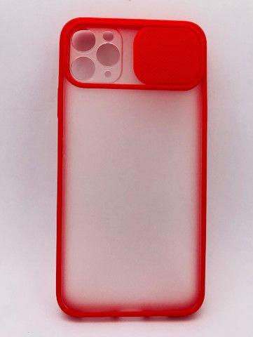 Case / Capinha Transparente iPhone 11 Pro com proteção de câmera (Aceito cartão) - Foto 3