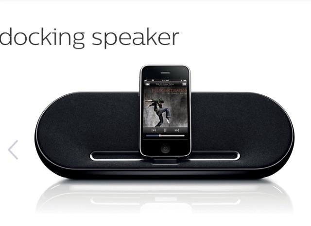 Speaker Dock Philips 7500/37 importado