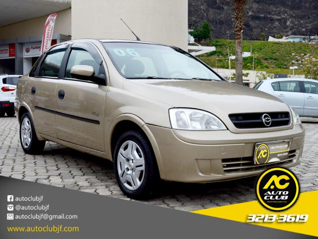 CHEVROLET CORSA 2006/2006 1.8 MPFI MAXX SEDAN 8V FLEX 4P MANUAL