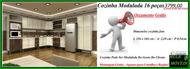 Cozinha Modulada 16 peças Orçamento Gratuito