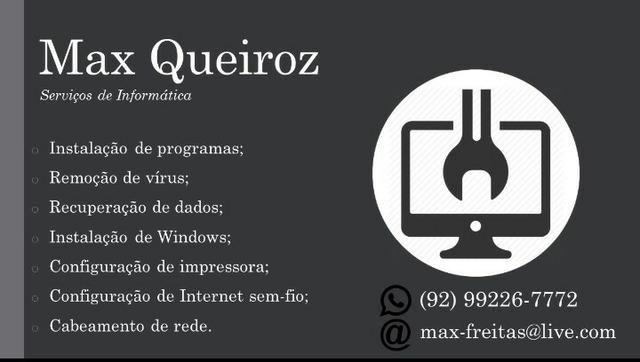 Serviços de Informática: Instalação, formatação, configuração