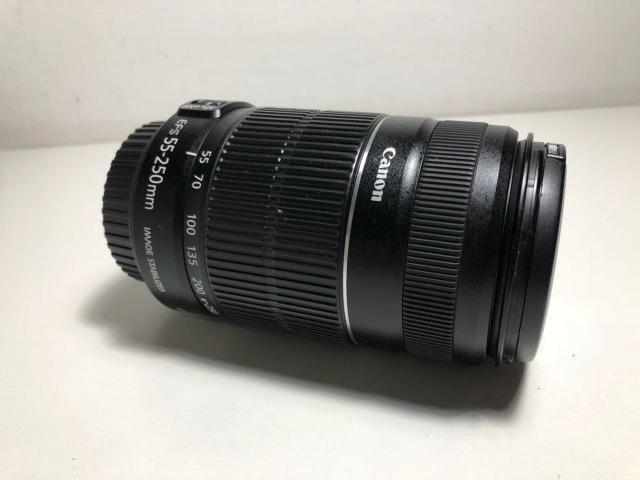 Lente Objetiva Canon Ef-s 55-250 Mm 1:4-5.6 Is II + Brinde