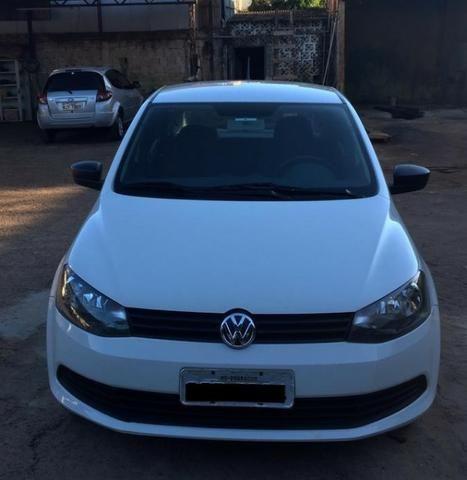 VW Gol 1.0 15/15 Branco (aceita trocas) - Foto 5