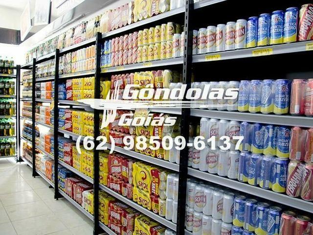 """Racks e expositores """"Gôndolas Goiás"""" - Foto 3"""