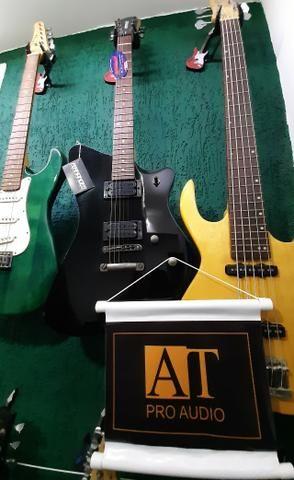 Guitarra Fernandes Vertigo X Bk Preta linda no mostruário da Loja instrumento novo! - Foto 5