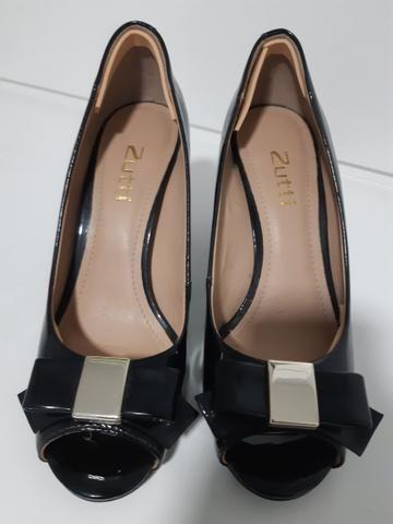 Sapatos n°34 Peep Toe Maravilhosos!!!! - Foto 4