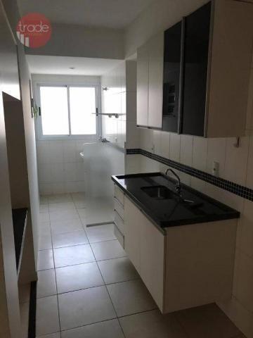 Apartamento com 2 dormitórios para alugar, 79 m² por r$ 1.300/mês - nova aliança - ribeirã - Foto 4