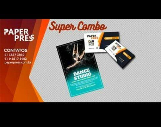 Combo - Cartão de vista + Panfletos / R$ 199,90