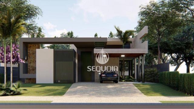 Casa com 3 dormitórios à venda, 408 m² por R$ 1.350.000 - Alphaville - Ribeirão Preto/SP