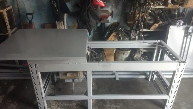 Mesa para cortar madeira (PREÇO A NEGOCIAR) - Foto 3