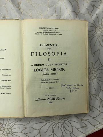 Lógica Menor - Jacques Maritain - 1953 - Foto 3