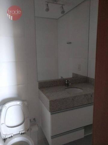 Flat com 1 dormitório para alugar, 44 m² por r$ 1.800,00/mês - bosque das juritis - ribeir - Foto 6