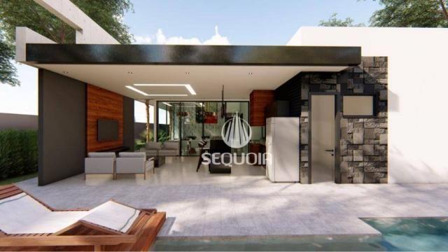 Casa com 3 dormitórios à venda, 408 m² por R$ 1.350.000 - Alphaville - Ribeirão Preto/SP - Foto 2