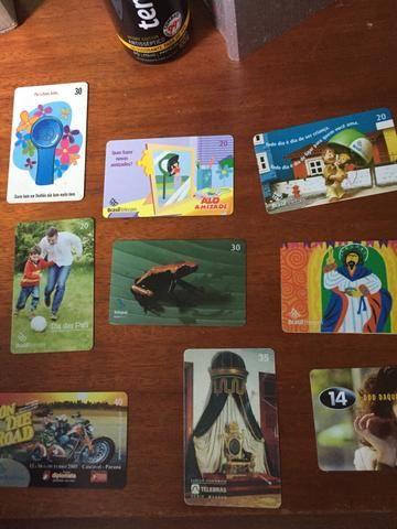 Coleção cartões telefônicos - Foto 2