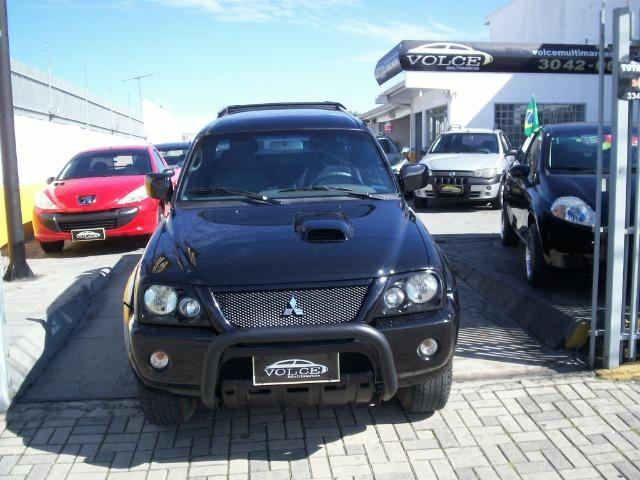 Mitsubishi L 200 Sport Hpe 4X4 C Dupla Preta Impecável - Foto 2