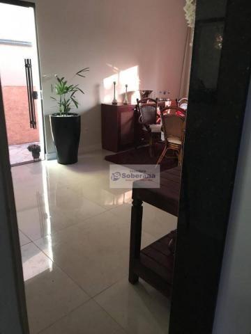 Casa com 4 dormitórios à venda, 340 m² por r$ 900.000,00 - swiss park - campinas/sp - Foto 15